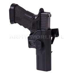 Release Button Holster for Glock 17 with Molle Attachment Helikon-Tex Black New