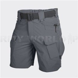"SHORTS Outdoor Tactical Shorts OTS 8,5"" Helikon-Tex Nylon Shadow Grey New"