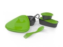 Set of containers LunchKit Light My Fire green - new