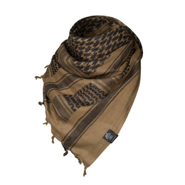 Shemagh wrapper  Helikon-tex cotton  Coyote / Black