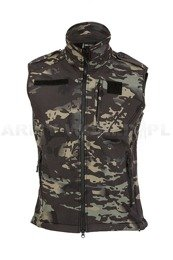 Soft Shell Vest Mil-tec Multitarn-Black New
