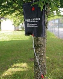 Solar Shower 20 Litres - Tourist Water bag Mil-tec Black New