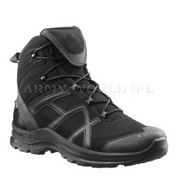 Sport Tactical Shoes HAIX ® Black Eagle Athletic 2.0 GTX Gore-Tex MID Black Oryginal New