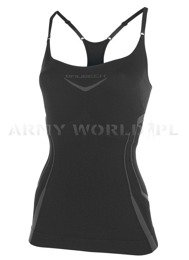 Strap Tank for Ladies Fitness Brubeck Black