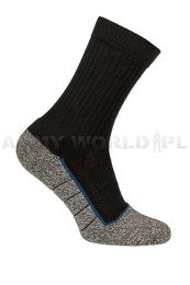 Summer Socks Bata Industrials Pro-Cool Dutch Army MS2 Black/Grey New