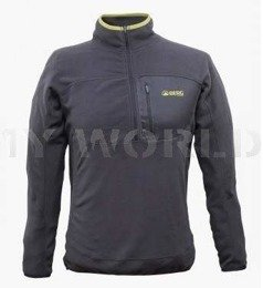 Sweatshirt Men's Dhaulagiri 1/2 Zip Sweat Berg Outdoor Graphite Original New