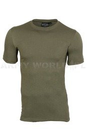 T-shirt Coolmax ® Short sleeves Thermoactive Oliv