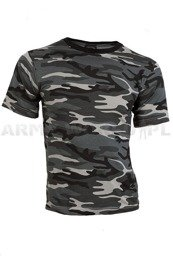 T-shirt Dark Camo Short Sleeves Mil-tec New