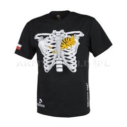 T-shirt Helikon-Tex Chameleon In Thorax With Flag Black New