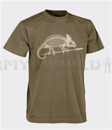 T-shirt Helikon-Tex With Skeleton Of Chameleon Coyote