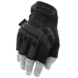 Tactical Gloves Mechanix Wear M-Pact Fingerless Covert Black New