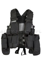 Tactical Vest Patern-83 PaintBall ASG Czarna Mil-tec New