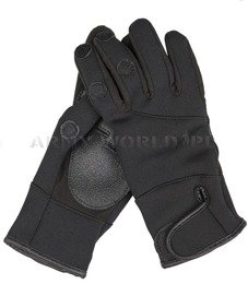 Tactical gloves Mil-tec Neoprene Black New