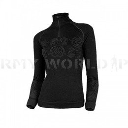 Thermoactive Sweater Prestige BRUBECK Women's Black New SALE