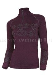 Thermoactive Sweater Prestige BRUBECK Women's Violet New SALE