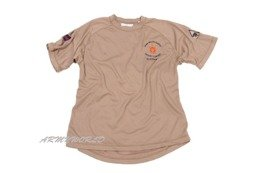 Thermoactive T-shirt Coolmax MOTIF Desert With Badge Demobil