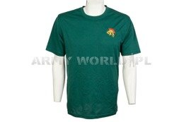 Thermoactive T-shirt Coolmax With Badge Green Used