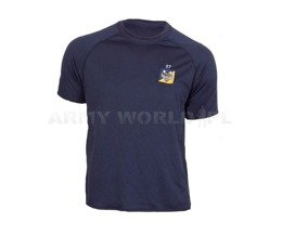 Thermoactive T-shirt Coolmax With Badge Navy Blue Used