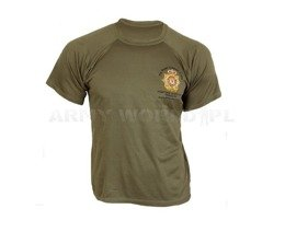 Thermoactive T-shirt Coolmax  With Badge The Royal Logistic Corps Used