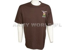 Thermoactive T-shirt Coolmax With Badge UK Joint Force Support Brown Used