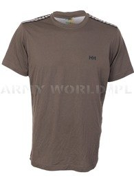 Thermoactive T-shirt  Heelly Hansen Dry Olive Used