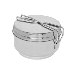 Three-pieces mess tin stainless steel HELIKON-Tex