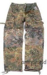 Trousers KSK Smock Bundeswehr Special Forces Flecktarn Mil-tec New