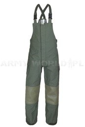 Trousers Nomex / Gore-tex Flame-retendant Waterproof Dutch MODEL 2005 Oliv Original New