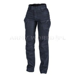 WOMAN PANTS Helikon-Tex UTP Denim Blue Jeans Urban Tactical Pants New