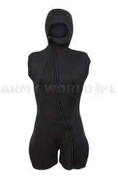 Wet Diving Suit Female Military Short Sleeves Short Legs Black BARE Supra Arctic Vest New