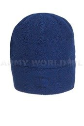 Winter Fleece Cap Polartec Navy Blue Used Without Logo