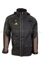 Winter Men's Jacket Black Adidas Hood German National Team Original New