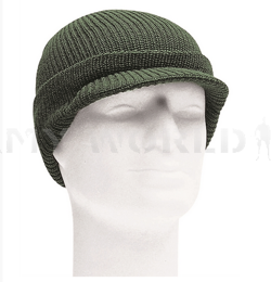 Winter Wool GI Cap Olive Mil-tec New