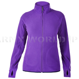 Women's Fleece Jacket Berghaus Prism Micro II Fleece Dark Purple New
