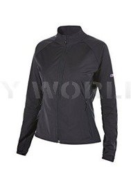 Women's Jacket SoftShell WindStopper Cadence Bergaus Black New