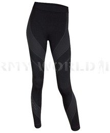 Women's Pants Multifunction Fit Activity Brubeck Black New