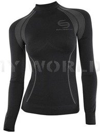 Women's Shirt Thermo 08 Black Brubeck Sale