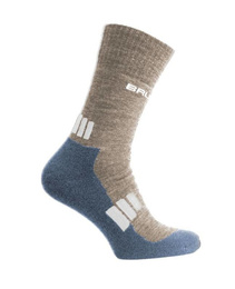 Women's Socks Trekking Light Brubeck Brown-Grey