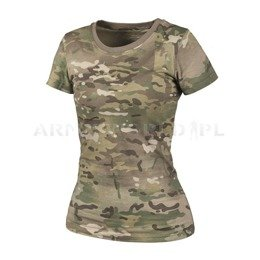 Women's T-shirt Helikon-Tex Camogrom New