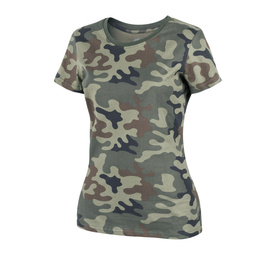 Women's T-shirt Helikon-Tex Pl Camo New