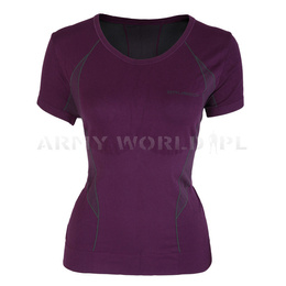 Women's T-shirt Short Sleeve Brubeck Fit Balace Purple New SALE
