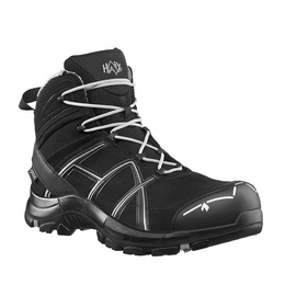 Workwear Boots Haix ® BLACK EAGLE Safety 40 Mid Gore-tex  Black/Silver New
