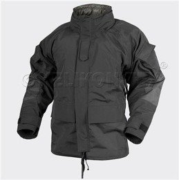 jacket Goretex Helikon black ECWCS II Generation with fleece lining