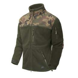 military fleece jacket New Infantry Helikon-tex PL Camo - Oliv Original new