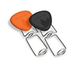 roasting stick set of 2 pieces GRANDPA'S FireFork Light My Fire orange&black New
