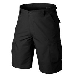 shorts Typ BDU Helikon Ripstop black military shorts
