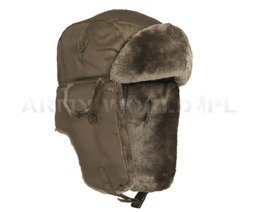 """uszatka"" cap Ushanka MA1 Winter Oliv New"