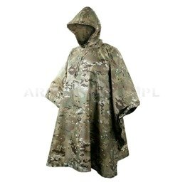 wATERPROOF PONCHO - Poncho Ripstop Helikon Camogrom / multicam