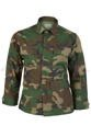 Shirt Tessar Ripstop Model BDU Woodland Military New