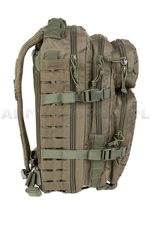 Backpack Model Us Assault Pack Sm Laser Cut Oliv New Olive